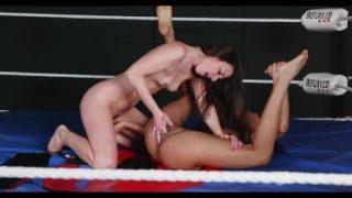 Amirah Adara vs Capri Lmonde Sex Fight – hot Scissoring match with Fingering & Face Sitting